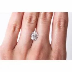 Oval AAA Quality Excellent Cut Lab Grown Diamond