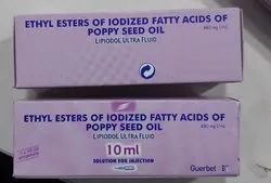 Ethyl Esters Of Iodized Fatty Acids Of Poppy Seed Oil (LIPIDOL INJECTION)