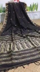 Khadi Cotton Hand Weived Baluchari Sarees