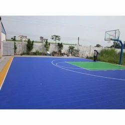 Indoor Polypropylene Tile, For Sports Flooring, 15-20 mm