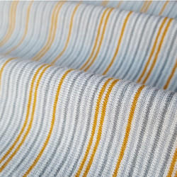 Organic Cotton Yarn Dyed Striped Fabric