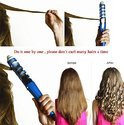 Professional Hair Curler Electric Curl Ceramic Spiral Hair (701-5)
