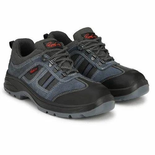 Blues Sporty Safety Footwear