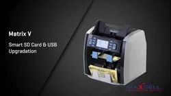 Maxsell Matrix-8120-V Currency Sorting Machine with Display