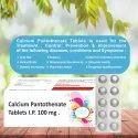 Calcium Pantothenate 100 Mg Tablets