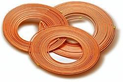 Round Copper Pan Cake Coil, Packaging Type: Standard