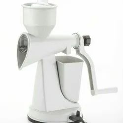 White Plastic Fruit Hand Juicer