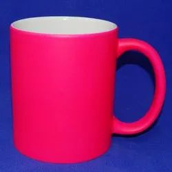 Soft Touch Neon Sublimation Mug
