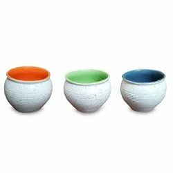 Ceramic Colored Mini Kulhar