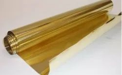 Polished Brass Sheet, Roll