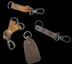HV India Genuine Leather Key Chains, Packaging Type: Export Quality Packing