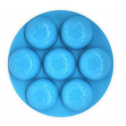 Silicone Smiley Chocolate Tray