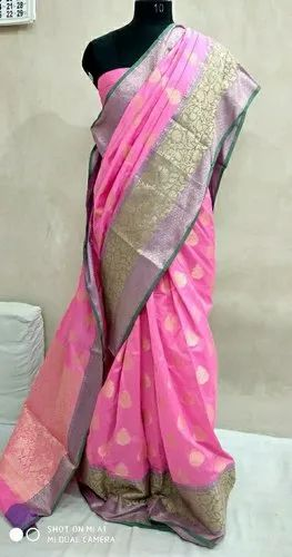 f34edc0a32 Party Wear Soft Silk Sarees, With Blouse Piece, Rs 1450 /box | ID ...