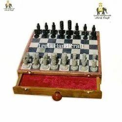 Drawer Stone Chess Board