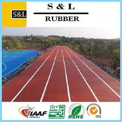 Acrylic Athletic Running Track Flooring