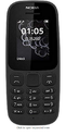 Nokia 105 Black Phone
