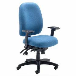 Medium Back Office Blue Chair
