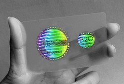 Flip Image Hologram