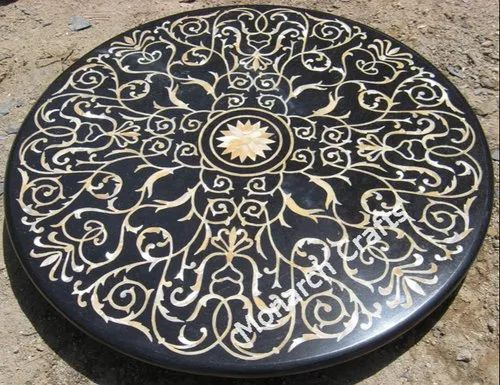 Black Marble Table Tops