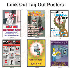 Lock Out Tag Out Posters