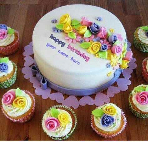 Vanilla Birthday Cake At Rs 450 Kilogram