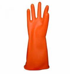 Rubber Gloves (Orange)