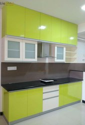 Straight Modern Kitchen