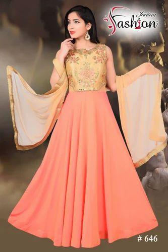 a9f280ef2 Free Size Ethnic Wedding Gown, Rs 1795 /piece, Indian Fashion | ID ...