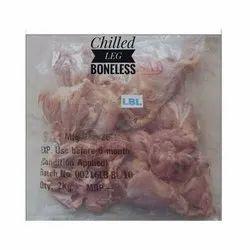 Fresh Boneless Chicken Leg Piece, For Household, 2 Kg
