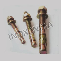 MS Zinc Plated Wedge Anchor Bolts