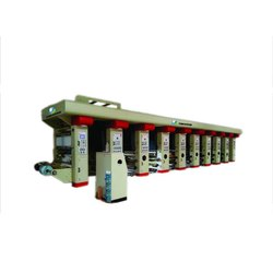 One Color Rotogravure Printing Machine