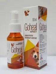 Goheal Spray- Dog Homoeopathic Veterinary Medicine