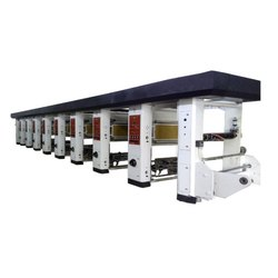 6 Color Rotogravure Printing Making Plant