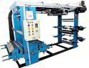 Roll To Roll 4 Colour Flexographic Printing Machine