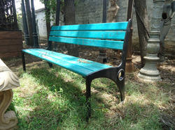 Ross Cast Iron Garden Bench