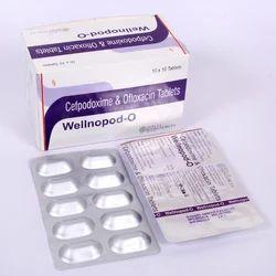 Cefpodoxime 200 mg Ofloxacin 200 mg Tablets