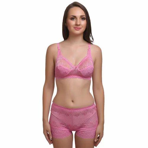 c034c9dbafe04 Cotton Modren Fancy Net Bra Panty Set