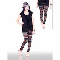 Printed Spandex Ladies Designer Legging by Aariti