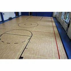 Wooden Indoor Basketball Court Flooring