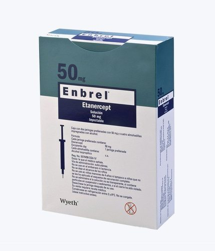 Enbrel Injection, Dose: 50 mg, Rs 15000 /number Million Health  Pharmaceuticals | ID: 19468989612