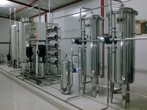 SS Automatic Commercial Reverse Osmosis Plant for Beverage Industries, RO