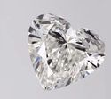 Heart Shape Diamond 2ct G VVS2 CVD TYPE2A 7.73mm Height 8.46mm Width