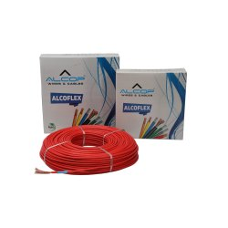 Alcop PVC Insulated Flexible Wires, 90m, Wire Size: 0.5 To 4 Sqmm
