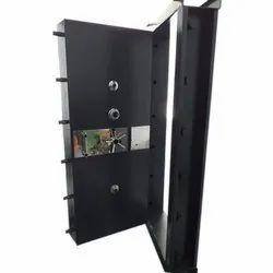 Mild Steel Single Door MS Safety Door, Size: 6 Feet