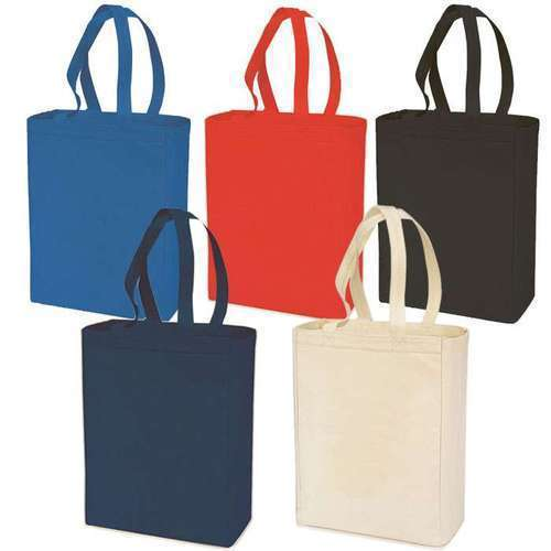 Optional Plain Colored Cotton Bag