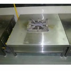 Single Burner SS Commercial Gas Range