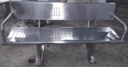 Stainless Steel Waiting Chair 4 Seater