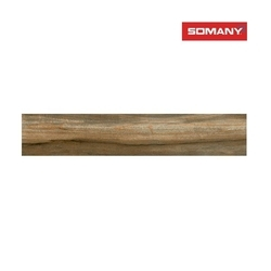 Somany T1961203195 11.2 mm Strio Pyrus Wood Teak Wall Tile, Size: 196 x 1200 mm