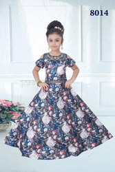Party Wear Kids Indian Gowns for Girls
