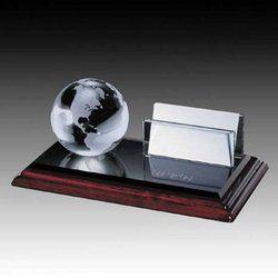 Globe Wooden Trophy